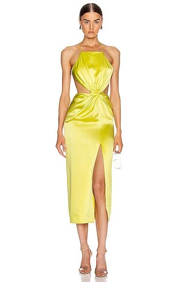 Diverge Drape Dress