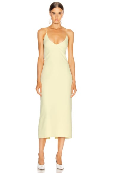 Floating Coil Slip Dress