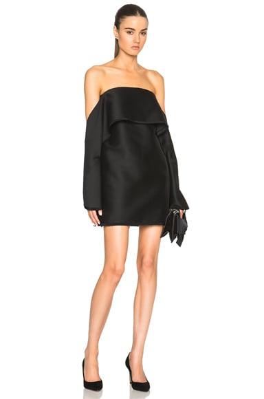Paper Tux Wool Levitation Dress