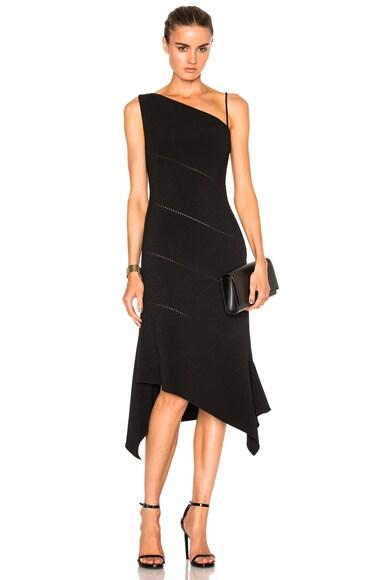 Bonded Crepe Bustier Dress