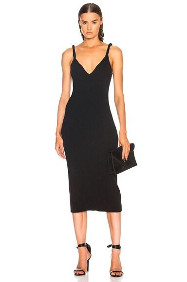 Twist Shoulder Dress