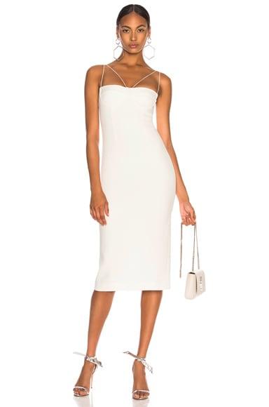 Sheer Solid Dress