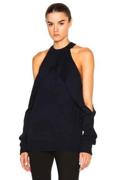 Merino Sleeve Release Knit
