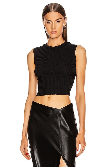 Opacity Pleat Top