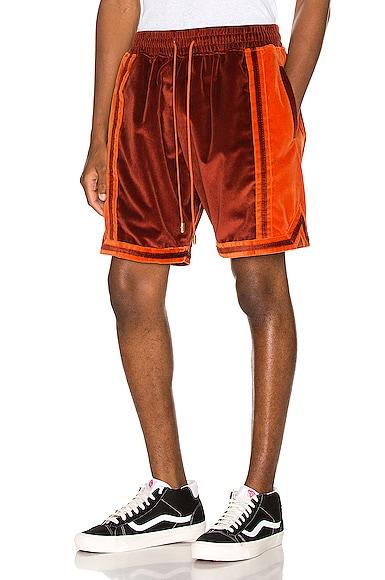Velvet Basketball Short
