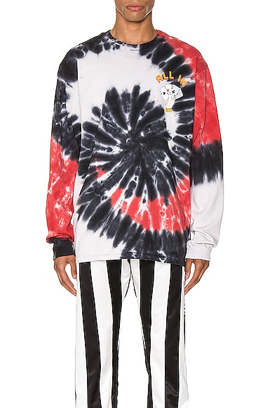 Dealers Spiral Dye Long Sleeve Tee