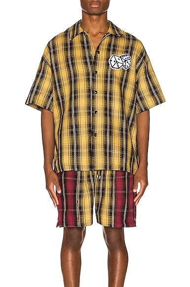 The Dealer Plaid Snap Shirt