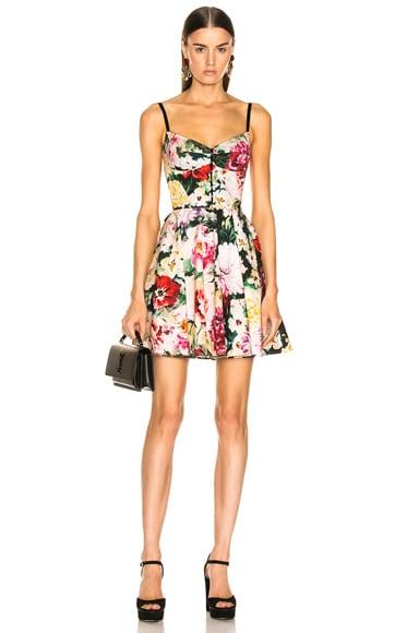 eff48f25ad8 Multi Floral Poplin Dress Multi Floral Poplin Dress. Dolce   Gabbana