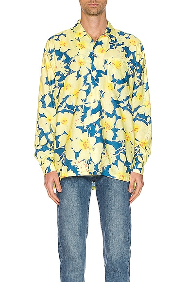 Long Sleeve Hawaiian Shirt