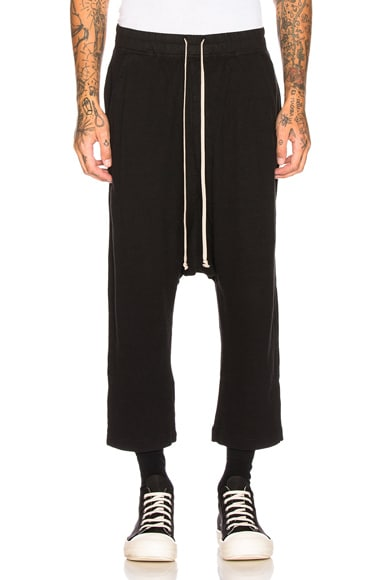 Drawstring Cropped Trouser