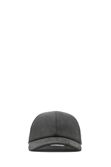 Blister Leather Baseball Hat