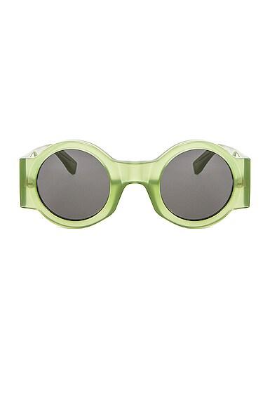 Round Thick Sunglasses