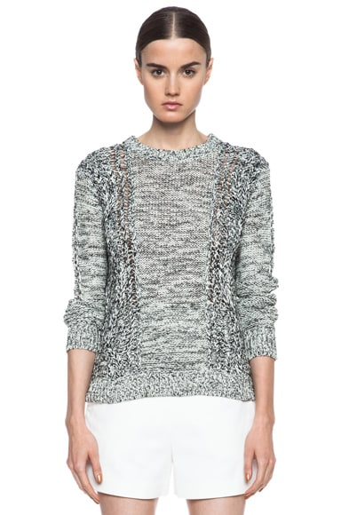 Ettie Linen-Blend Sweater