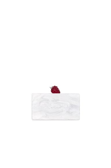 Jean Strawberry Clutch