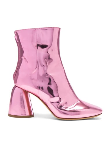 Patent Leather Jezebels Boots
