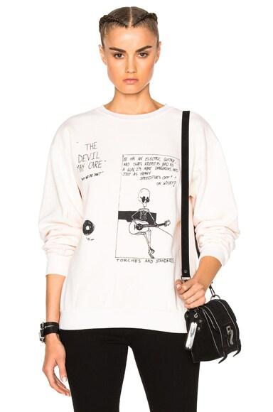 Devil May Care Sweatshirt