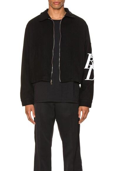 Black Logo Jacket