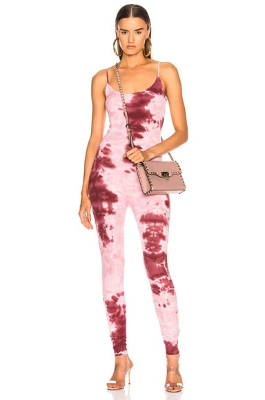 for FWRD Rib Fitted Strappy Jumpsuit