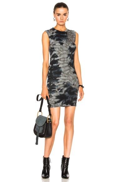 Rib Sleeveless Mini Dress
