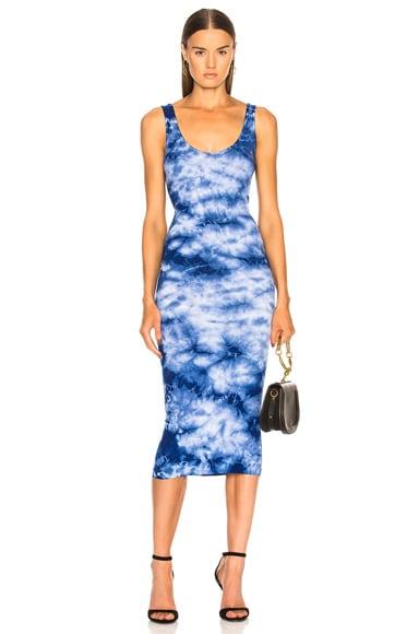 Rib Tank Midi Dress