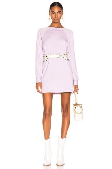 Easy Long Sleeve Raglan Dress
