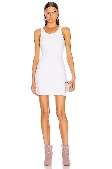 Rib Racer Mini Dress