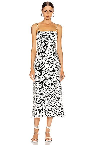 Linen Strappy Dress