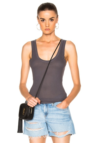 Rib Fitted Bold Tank