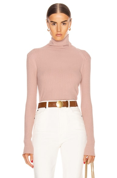 Brushed Rib Split Collar Long Sleeve Top