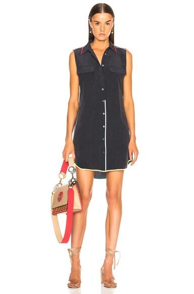 Sleeveless Slim Signature Dress