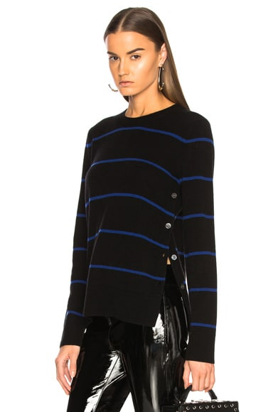 Jenny Side Button Sweater
