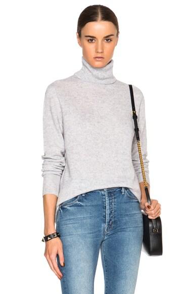 Cashmere Oscar Turtleneck Sweater