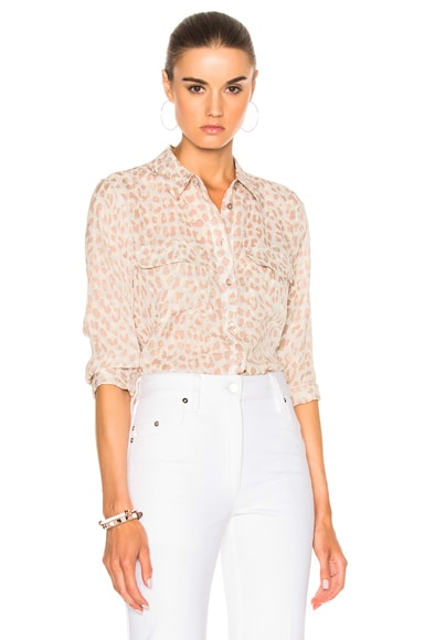 Cropped Sleeve Signature Top