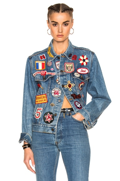 for FWRD Vintage x Patch Jacket