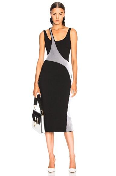 Varsity Knit Dress
