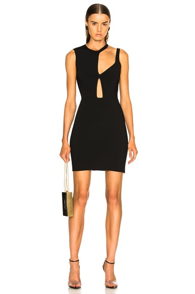 Cutout Mini Dress