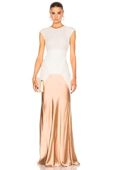 Geometric Shape Gown
