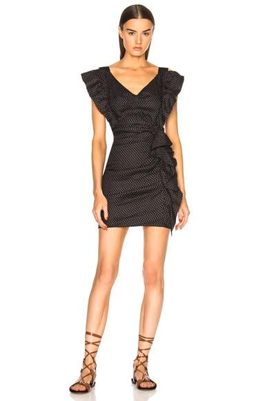 Topaz Chic Linen Strapless Dress