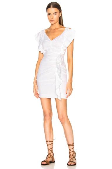 Topaz Chic Linen Dress