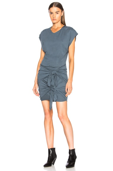 Roxane Draped Jersey Dress