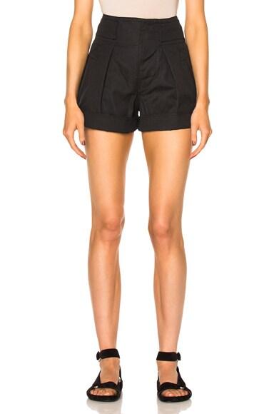 Ivy Cotton Linen Shorts