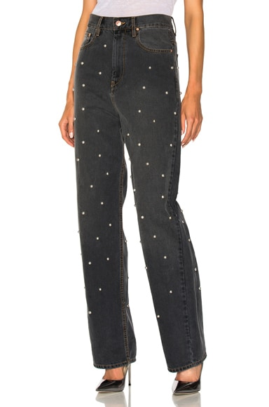 Curt Fancy Studded Boyfriend Jeans