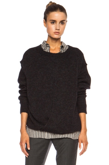 Rikers Draped Lambswool Sweater