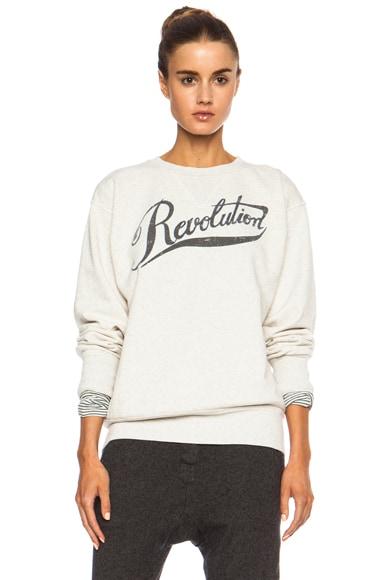 Gillian Revolution Cotton-Blend Sweatshirt