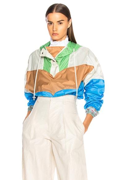 Cyriel Color Blocked Raincoat