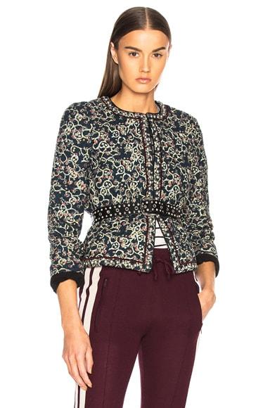 Hustin Printed Quilt Jacket