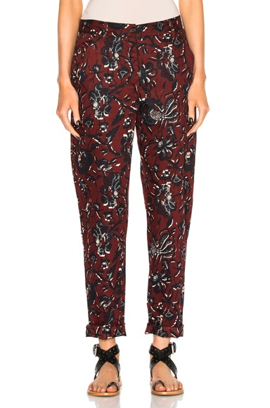 Janelle Printed Cotton Pants