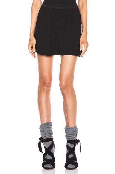 Anais Crepe Acetate-Blend Skirt