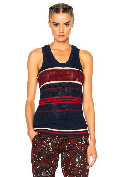 Dully Striped Knit Top