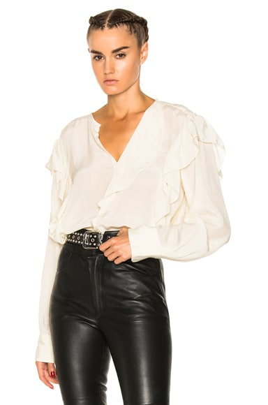 Welby City Flou Ruffled Blouse